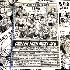 CHILLER THAN MOST #5 fanzine